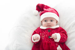 Kerstmis van de baby Royalty-vrije Stock Foto's