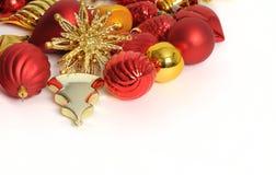 Kerstmis van de decoratie Royalty-vrije Stock Foto
