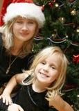 Kerstmis van de familie Stock Afbeeldingen