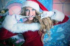 Kerstmis van de fee Stock Afbeelding