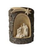 Kerstmis van de geboorte van Christusscène Stock Afbeeldingen