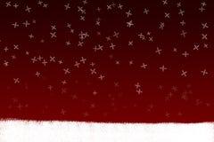 Kerstmis van de groetkaart Royalty-vrije Stock Foto's