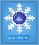 Kerstmis van de kaart Stock Foto