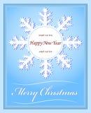 Kerstmis van de kaart Royalty-vrije Stock Foto's