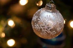 Kerstmis van de sneeuwvlok Stock Foto