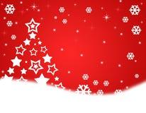 Kerstmis van de wintertijd viert Stock Foto's