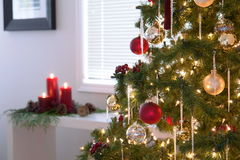 Kerstmis van de Woonkamer van Kerstmis Royalty-vrije Stock Afbeelding