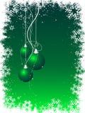 Kerstmis van Grunge stock illustratie