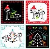 Kerstmis van het beeldverhaal Royalty-vrije Stock Afbeelding