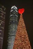 Kerstmis van Hongkong Stock Afbeelding