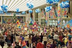 Kerstmis van kinderen toont Stock Afbeelding