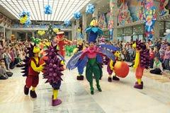 Kerstmis van kinderen toont Royalty-vrije Stock Foto