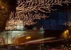 Kerstmis van Madrid Royalty-vrije Stock Afbeeldingen