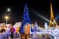 Kerstmis van Parijs Royalty-vrije Stock Afbeeldingen