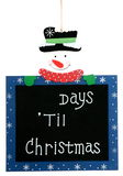 Kerstmis van Til van de aftelprocedure Stock Fotografie