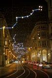 Kerstmis van Turijn steekt 2010 aan Stock Foto's