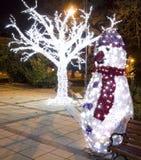 Kerstmis in Varna Stock Afbeelding