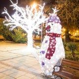Kerstmis in Varna Stock Fotografie