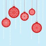 Kerstmis vectorbeeld Royalty-vrije Stock Foto