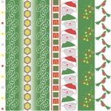 Kerstmis vectorgrens vector illustratie