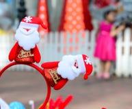 Kerstmis verfraaide Santa Claus Royalty-vrije Stock Foto