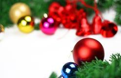 Kerstmis verfraait Stock Foto's