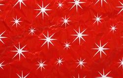 Kerstmis Verpakkend Document Royalty-vrije Stock Foto's