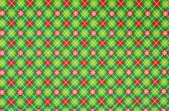 Kerstmis verpakkend document Stock Afbeeldingen