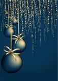 Kerstmis versiert achtergrond Royalty-vrije Stock Foto