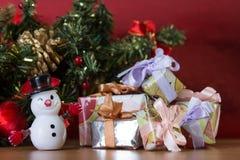Kerstmis, viering, spar Royalty-vrije Stock Afbeeldingen