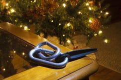 Kerstmis voor een klimmer Stock Foto