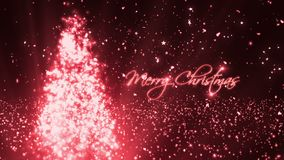 Kerstmis wenst 2 stock footage