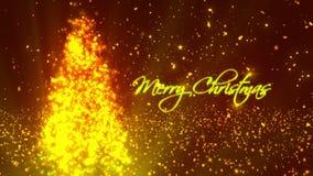 Kerstmis wenst 1 stock videobeelden
