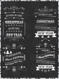 Kerstmis wenst achtergrond Ontwerp voor uw groetkaart Royalty-vrije Stock Afbeelding