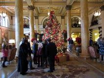 Kerstmis in Willard Stock Fotografie