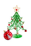 Kerstmis wirefir Stock Afbeeldingen
