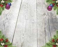 Kerstmis witte achtergrond Royalty-vrije Stock Afbeelding