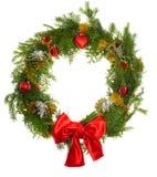 Kerstmis wreatlh Stock Foto