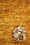 Kerstmis - Zilveren Bloem Royalty-vrije Stock Foto