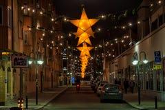 Kerstmis in Zweden Stock Foto's