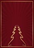 Kerstmisachtergrond Stock Fotografie