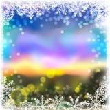 Kerstmisachtergrond. Stock Afbeeldingen