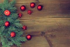 Kerstmisachtergrond stock foto