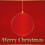 Kerstmisachtergrond Royalty-vrije Stock Foto's