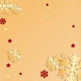 Kerstmisachtergrond Stock Foto's
