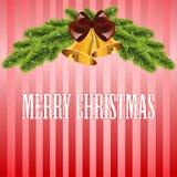 Kerstmisachtergrond Royalty-vrije Stock Afbeeldingen
