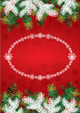 Kerstmisachtergrond Royalty-vrije Stock Foto