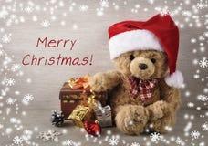 Kerstmisachtergrond. Stock Foto's