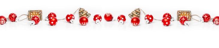 Kerstmisachtergrond, Banner Royalty-vrije Stock Afbeeldingen
