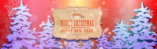 Kerstmisachtergrond 05c Stock Foto